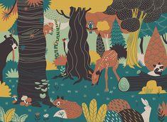 Energia tropicale e riscoperta delle tradizioni tribali: André Ducci - Picame Storyboard, Comic Books Art, Childrens Books, Graphic Art, Illustration Art, Illustrations, Behance, Cool Designs, Digital Art