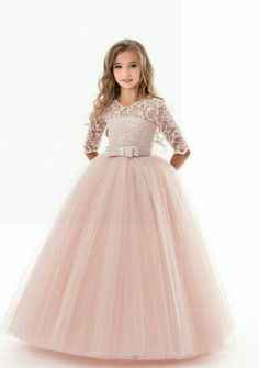 Нарядное платье для девочки Little Girl Dresses, Girls Dresses, Flower Girl Dresses, Fabulous Dresses, Cute Dresses, Kids Gown, Kids Frocks, Sweet Dress, Pageant Dresses