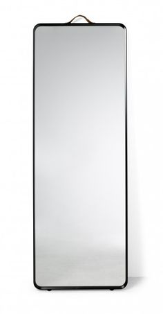Modern floor mirror with a thin frame