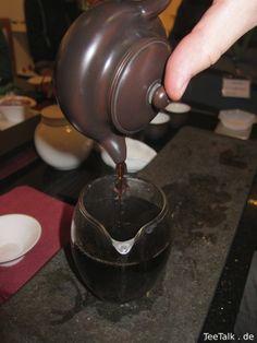 Tea-color like red wine - Tee auf der Teezui