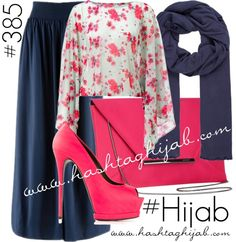 Hashtag Hijab Outfit #385 van hashtaghijab met black scarvesLipsy loose fitting top€40-lipsy.co.ukBlue pleated skirt€37-bonprix.co.ukGianmarco Lorenzi platform stiletto pumps€610-farfetch.comCoast pink envelope clutch€43-johnlewis.comAmerican Vintage black scarve€35-zalando.co.uk