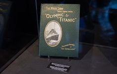 Copia encuadernada del número-souvenir del Shipbuilder, conmemorando la construcción del Titanic y el Olympic.   LD/David Alonso Rincón