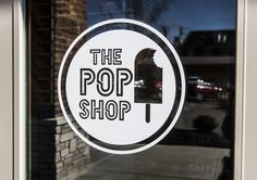 Branding and interior concept for The Pop Shop Montgomery (Cincinnati) by  Knot & Company, LLC.