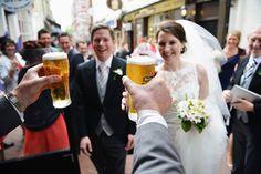 Two Pints Pints, Wedding Day, Wedding Dresses, Fashion, Pint Glass, Pi Day Wedding, Bridal Dresses, Moda, Bridal Gowns