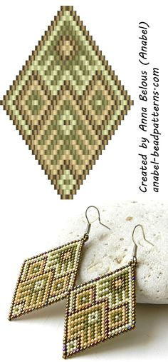- peyote earrings pattern