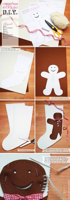 Christmas stocking d.i.y. & a give away