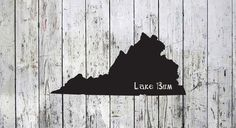 Lake Bum Home Decal
