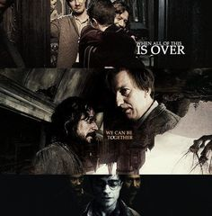Remembering that Harry lost two of his father figures. No!