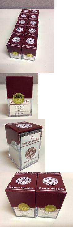 Sewing Machine Needles 41247: 1000X - 1000 Orange Dpx17 135X17 2167 #12 (80) Industrial Sewing Machine Needles -> BUY IT NOW ONLY: $180 on eBay!