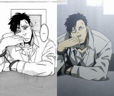 Gangsta. Nicolas Brown | Manga vs Anime