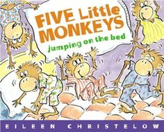 Five Little Monkeys Jumping on the Bed by Eileen Christelow. Great for introducing subtraction!