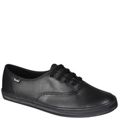 Keds Women's Champion CVO Leather Trainers - Black: Image 21