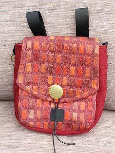 Steampunk-Renaissance Faire Belt Bag