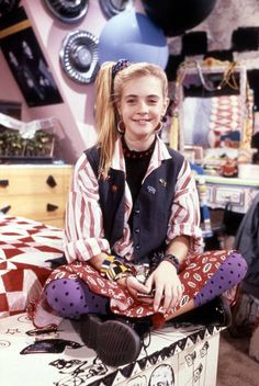 "Clarissa Explains It All! What she taught us: ""Every now and then it's okay to mix prints."""