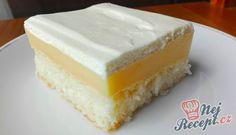 Šťavnatý koláč s kokosem bez vajec a másla | NejRecept.cz