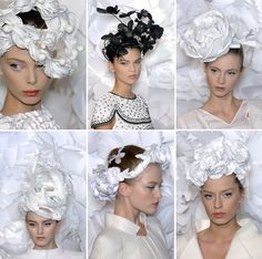 Chanel paper hats