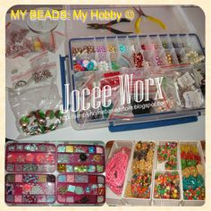 Simply Homebased Mom - The Practical Filipina: My Beads. My Hobby Filipina, Mom, Beads, My Love, Beading, Bead, Pearls, Mothers, Ruffle Beading