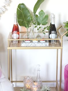 A Fabulous Fete: a twist on the mimosa bar // entertaining + cocktails