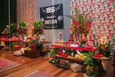 Festa Tropical Didu 60 anos Spazio Itanhangá