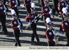 Mercer Island Washington High School Marching Band 2012 Rose Parade