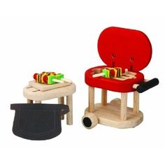 Plan Toys Dollhouse Barbeque Set