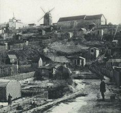 Montmartre en 1890                                                                                                                                                                                 Plus
