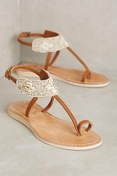 Cocobelle Bali Sandals Ivory Sandals