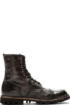Diesel Biker & Combat Boots for Men | Online Boutique | SSENSE