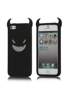 Coque silicone diable noir  http://www.phonewear.fr/12119-thickbox/coque-silicone-iphone-5-design-diable-noir-film-protecteur.jpg  à 6,95€