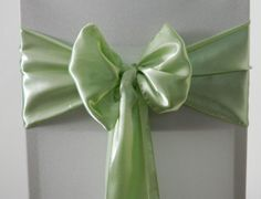 Apple Green Satin   www.blueorchid-events.com