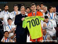 Gran momentos de los 700 partidos de Casillas con el Real Madrid