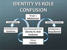 eriksons theory identity vs role confusion