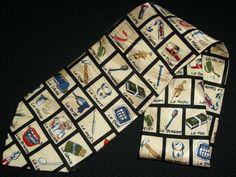 Vintage Artifacts Museum Tie Northeast Dental by TheTieParadise