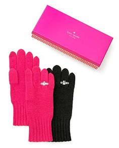 Fun and Functional Pink Kate Spade Gloves - Sweet! Valentines Day
