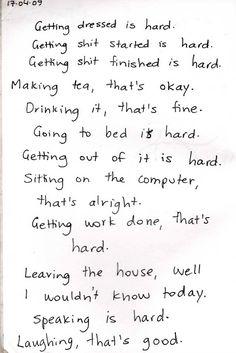 realities of depression