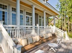 Gorgeous Southern home with a truly lovely porch / outdoor entertaining area at 24 Blue Heron Pond on #Kiawah Island (available for sale as of 03.31.16)
