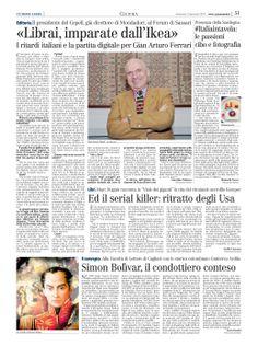 Articolo Unione Sarda su #sardegnaintavola #italiaintavola