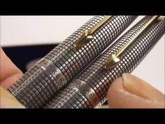 Parker 75 Cisele Fountain Pen Review - YouTube