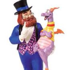 Dreamfinder and Figment circa 1982