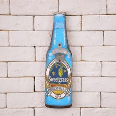 Beer sign wooden decoration Beer bottle opener dual family decorates B – Pitchy Wooden Delights