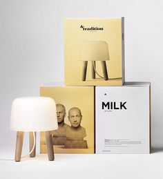 Via Lovely Package | And Tradition Milk Lamp by Norm Architects