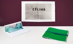 Fashion week S/S 2014 invitations: womenswear collections | Céline