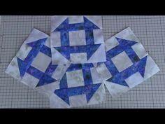 """パッチワーク Patchwork Quilt Vol.14ミシンキルト「ミシンキルト・パッチワークの基本1」""""Monkey wrench """"FelisaQuilts中沢フェリーサ - YouTube"""
