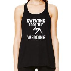 Sweating for the Wedding Yoga Tank Top