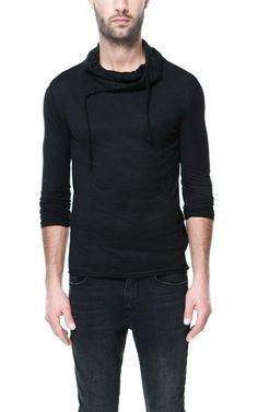 FUNNEL NECK T - SHIRT - T - shirts - Man | ZARA United States