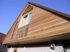 Mizarstvo Hrovat - Wooden facade - Lesena fasada http://www.hrovat.net/izdelki/lesene-fasade/lesena-fasada-ljubljana/