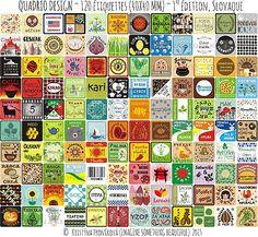 Originálne samolepiace nálepky na koreničky a iné potravinové dózy (Slovensky) - 120 ks Spice Jar Labels, Spice Jars, Tzatziki, Garam Masala, Barbecue, Spices, Etsy, The Originals, Image