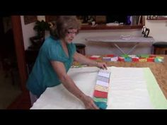 Flip and Sew Quilt - Great idea. YouTube Betty Upchurch teaches her method of Flip and Sew for making quick and easy baby quilts. SHOW MORE