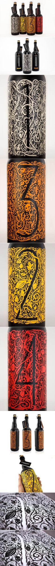 Student: Luminary Quarter Beer Design — The Dieline - Branding & Packaging Design...