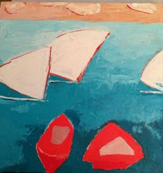Fauvist Modern Milton Avery Primitive Naive Art Abstracted Landscapes Stilllifes : JILL FINSEN PAINTINGS